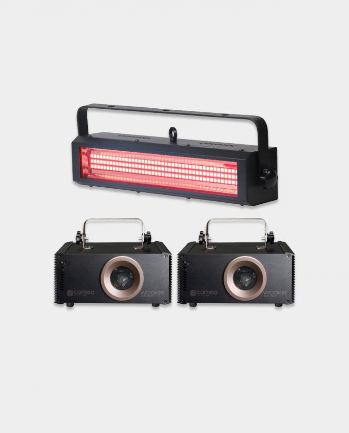Leie Liten Lyspakke - Laser / Strobe