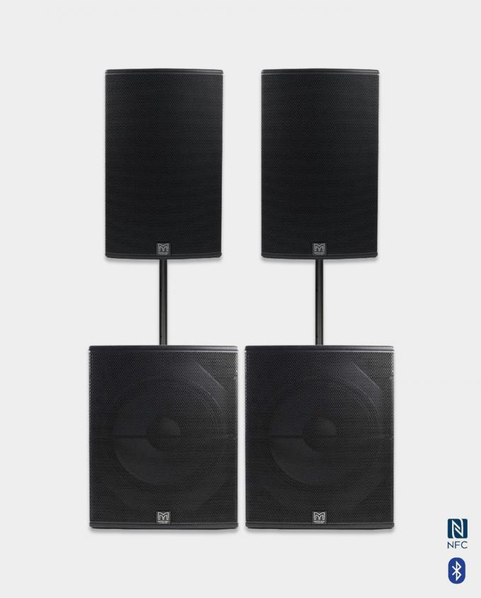Proff Kvalitet - Leie høytalere Medium Lydpakke