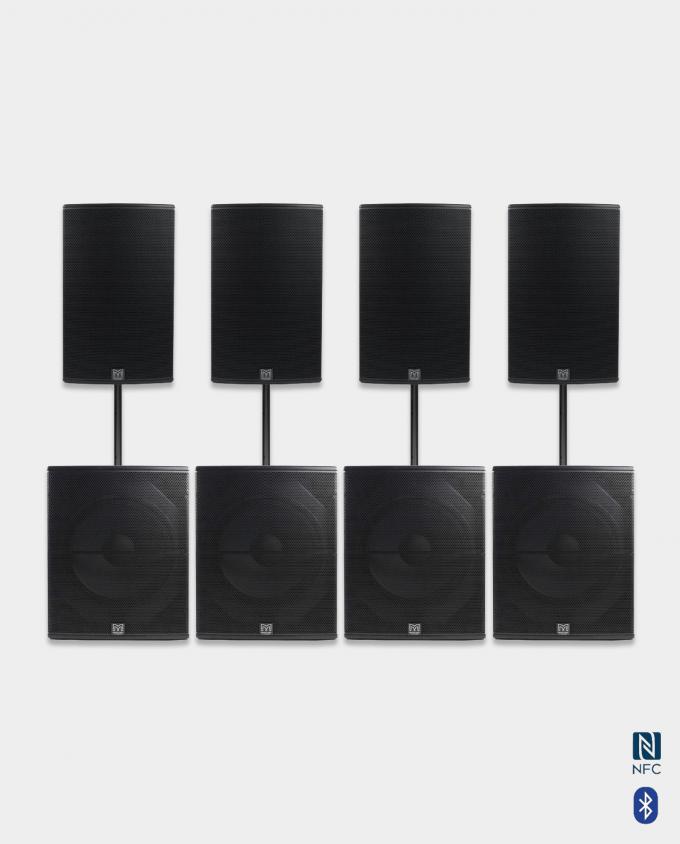 Konsertkvalitet - Leie Medium Lydpakke