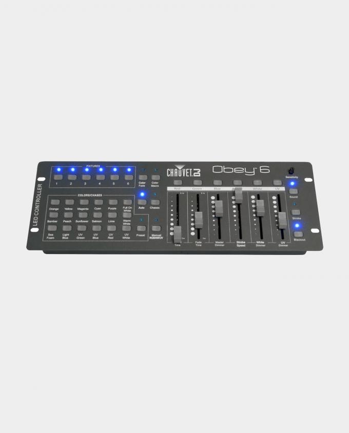 Leie lysmiksebord (DMX-kontroller)