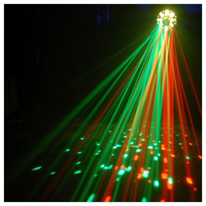 Leie Stor Lyspakke – Multi Laser / Strobe