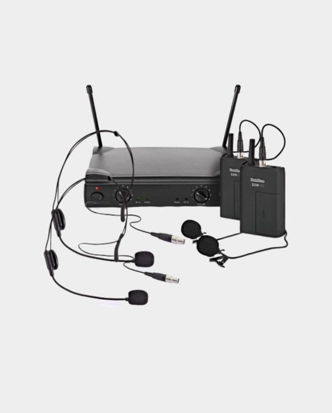 Leie Dobbel Trådløs Headset / Mygg (Mikrofon)