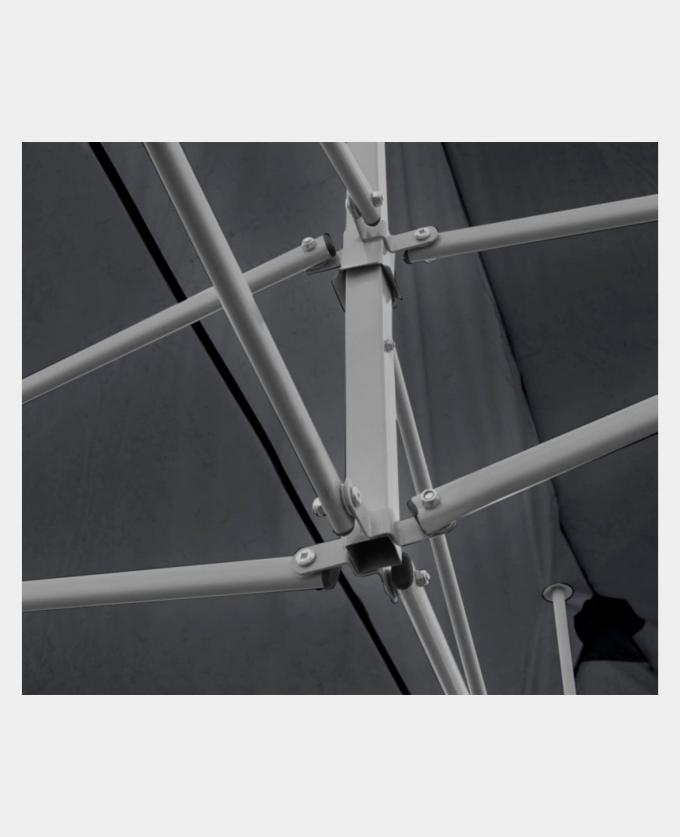 Leie Popup partytelt 6x3 Meter med sidevegger