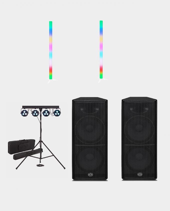 Leie Lyd & Lyspakke Liten Effektbelysning