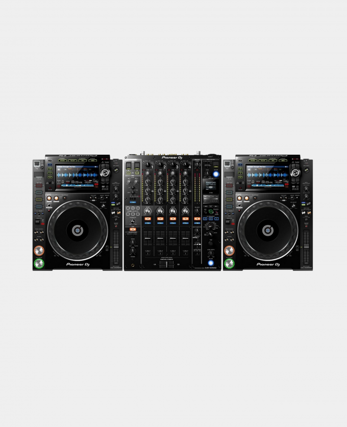 Leie Pioneer CDJ2000 / DJM900 – Komplett DJ miksebord