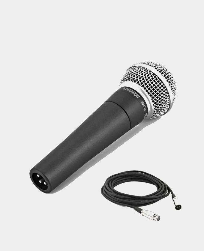 Leie Proff Mikrofon Shure SM58 (Kablet)